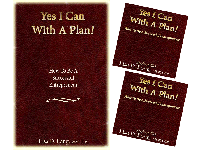 YICWAP how to products Yes I Can With A Plan! How to be a Successful Entrepreneur